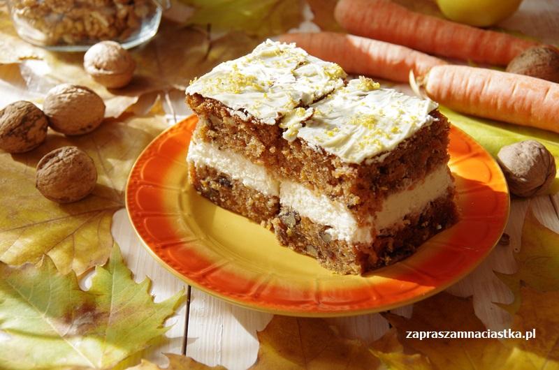 Ciasto Marchewkowe Z Kremem Www Zapraszamnaciastka Pl